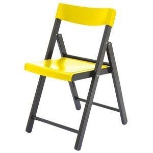 Cadeira Tramontina Potenza Tabaco/Amarelo
