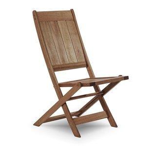 Cadeira Dobrável Acqualung sem Braços Mão e Formão Nogueira