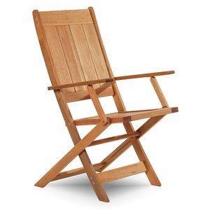 Cadeira Dobrável Acqualung com Braços Mão e Formão Jatobá