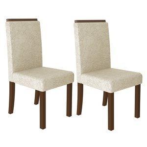 Conjunto 2 Cadeiras 4157 Madesa Rustic/Imperial Freja