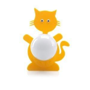 Abajur Stickcat Cromalux Amarelo