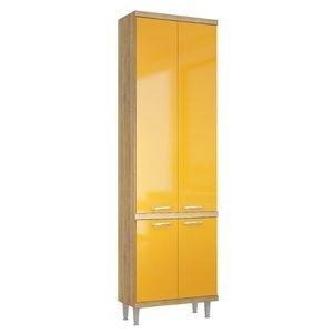 Paneleiro 70cm 5121 Sicília Multimóveis Argila/Amarelo Gema
