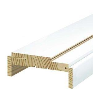 Batente de Madeira Regulável Famossul Primer 14 cm a 16 cm Branco