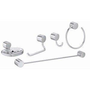 Kit Acessórios para Banheiro 5 Peças Flex Deca Cromado