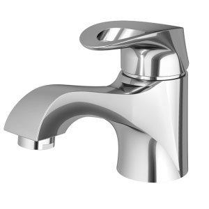 Misturador Monocomando de Banheiro Lavatório Balcão 2875 Angra Meber Metais Cromado
