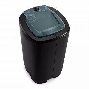 Lavadora Semiautomática 7kg Ágile Mueller 127V Preto