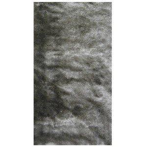 Tapete Clássico Liso Silk Shaggy Niazitex 2,50m x 3,00m Prata