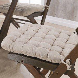 Almofada para Cadeiras Futton Kalamar Niazitex Areia