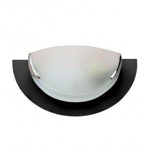 Arandela Vidro para 1 Lâmpada 602 Pantoja & Carmona Preto