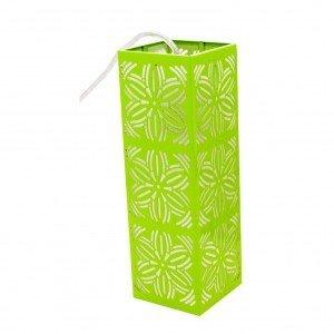 Pendente Aço Inox com 1 Lâmpada LED Renda 101 Taschibra Verde Limão