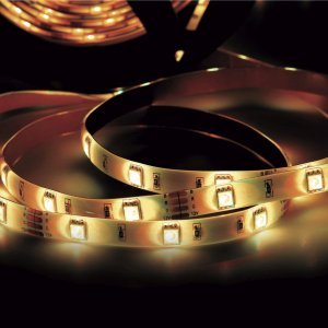 Fita LED 2,5W 30 LEDs/metro 40m 12V IP20 Taschibra 3000K Luz Amarela