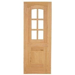 Porta de Madeira PE14 Fênix Esel 210cmx80cmx3cm Angelim
