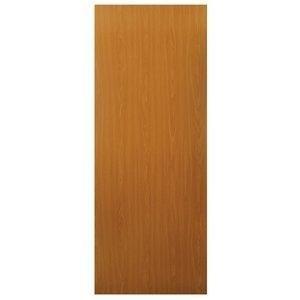 Porta de Madeira Lisa Nevada MGM 210cmx60cm Melamínico Mogno