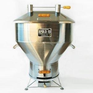 Churrasqueira a Bafo Gás ou Carvão Inox Aisi 304 Apolo 10 Inox