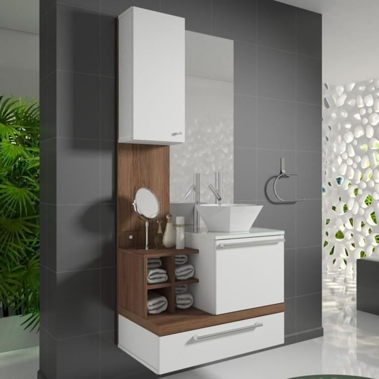 Gabinete para Banheiro com Espelheira Ravenna Celta Móveis (Acompanha CubaNã -> Cuba De Apoio Para Banheiro Herval Ravenna