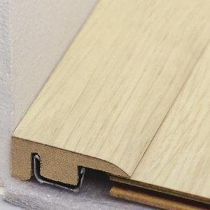 Perfil Piso Parede MDF Durafloor 10mm x 2,1cm x 2,10 m (barra) Gris Columbia