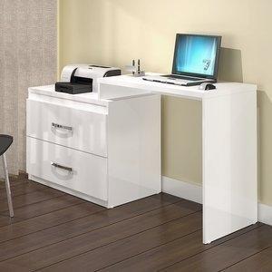 Mesa para Escritório MSM416 MovelBento Branco