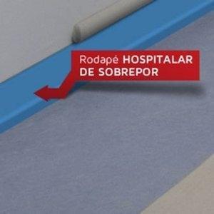 Rodapé Hospitalar de Sobrepor Dipiso 7 cm (ML) 9234927