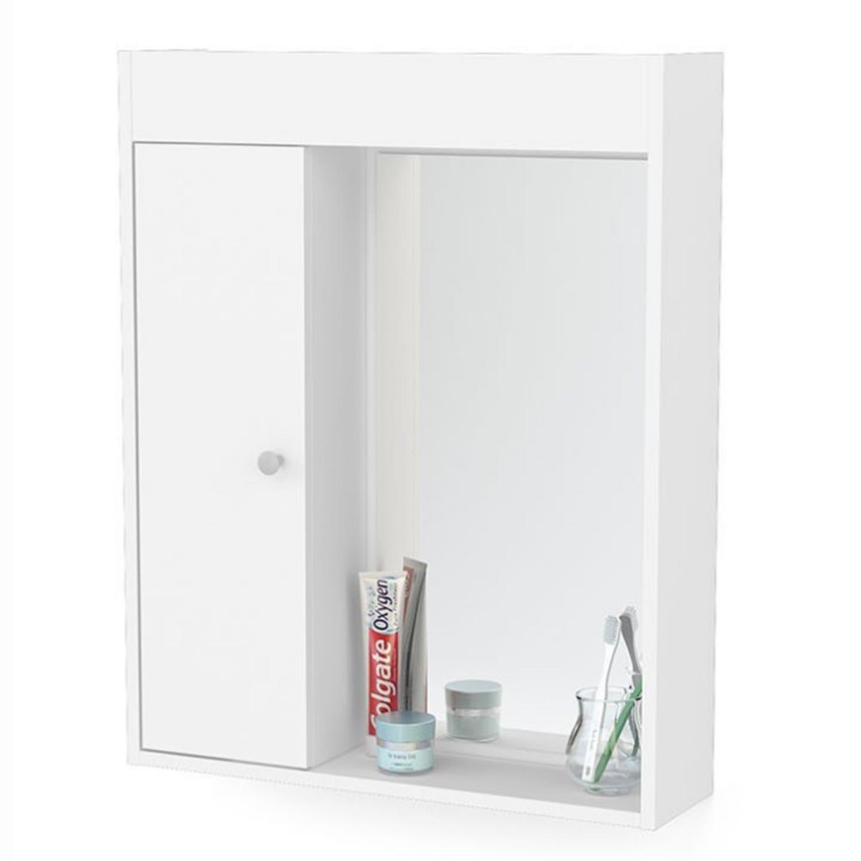 Armário Para Banheiro Aéreo Para Banheiro 1 Porta R$ 180 90 em  #943739 1500x1500 Armario Banheiro Rodizio